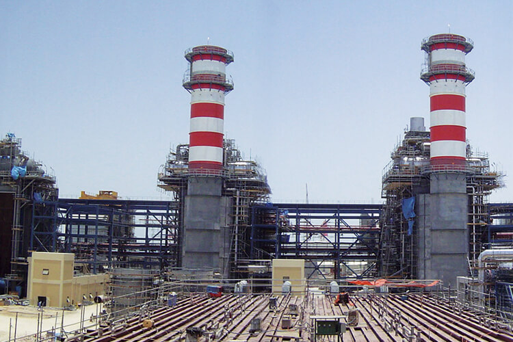 Umm al Nar Independent Water and Power Plant, Abu Dhabi