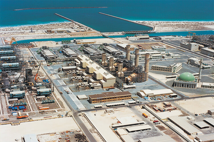 uae energy construction